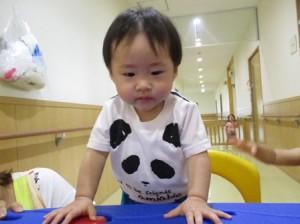パンダの服が似合ってます