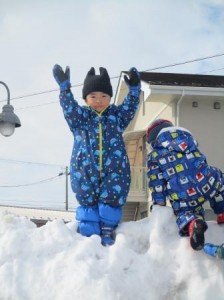 高い雪山も登れるよ!